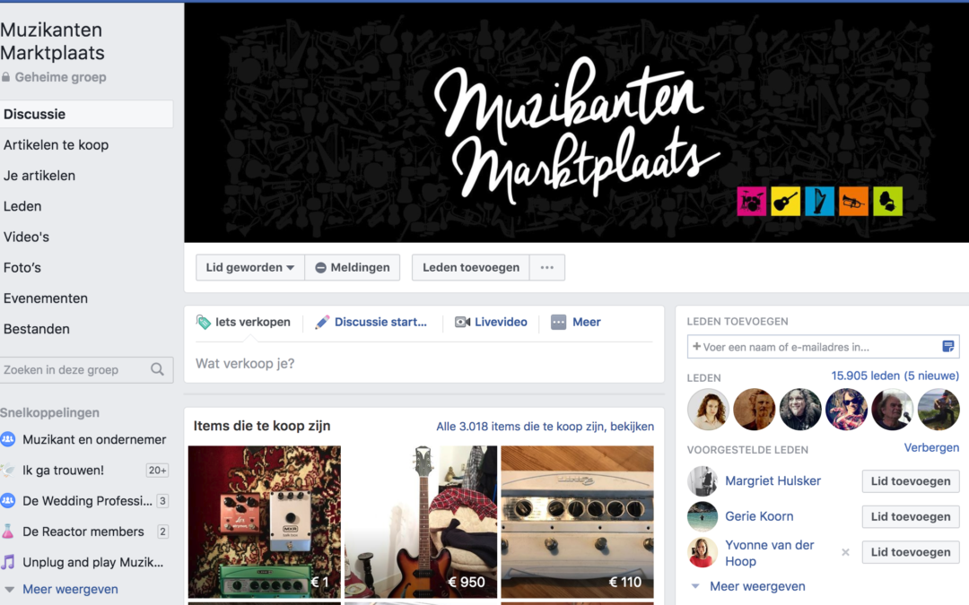 Nuttige Facebookgroepen: om te leren én om boekingen te vinden